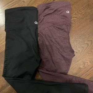 Two pairs of Gap athletic workout pants